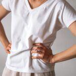 t-shirt z bawełny merceryzowanej biały