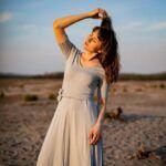 Sukienka CHWILA z wiskozy EcoVero – gołębia