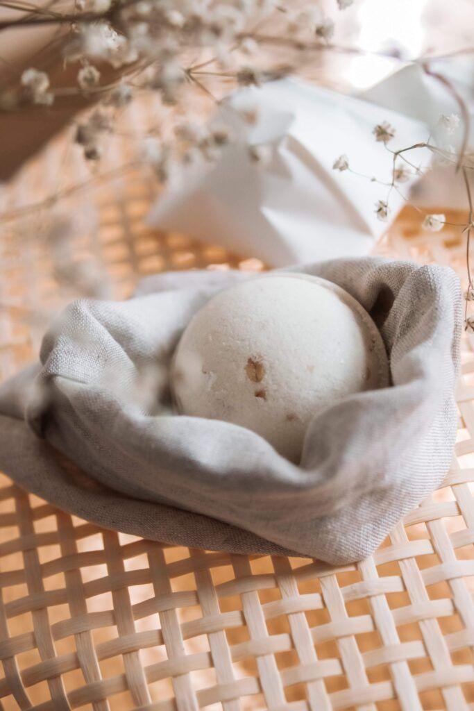 lniany woreczek kula kąpielowa ministerstwo dobrego mydła